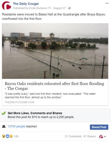 Bayou post